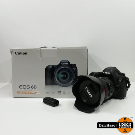 Canon eos 6D + EF 24-105 f/4L IS USM kit