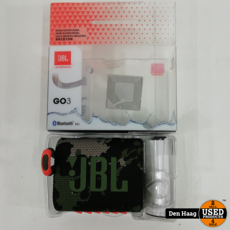 JBL Go 3 Camouflage