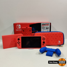 Nintendo - Switch Console - Mario Red and Blue Edition