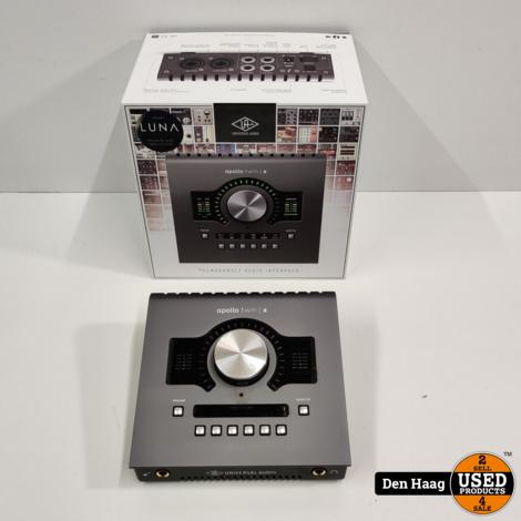 Universal Audio Apollo Twin X DUO Heritage Edition Thunderbolt 3 Audio Interface (zo goed als nieuw)