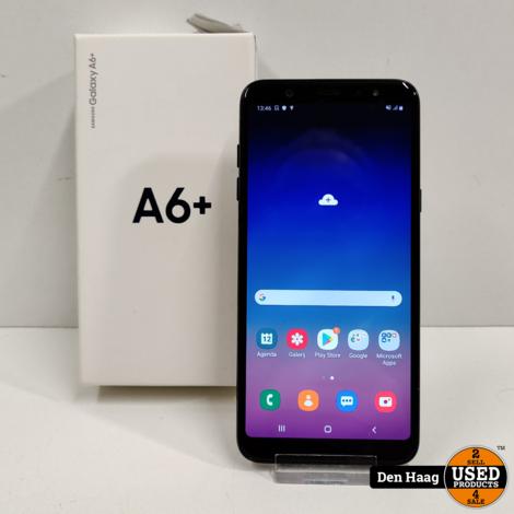 Galaxy A6+ / nieuwstaat!