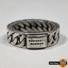 Buddha ring Maat 19 Zilver 925