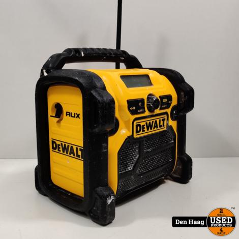 DEWALT DCR019 FM/AM RADIO 10.8-18V XR LI-ION