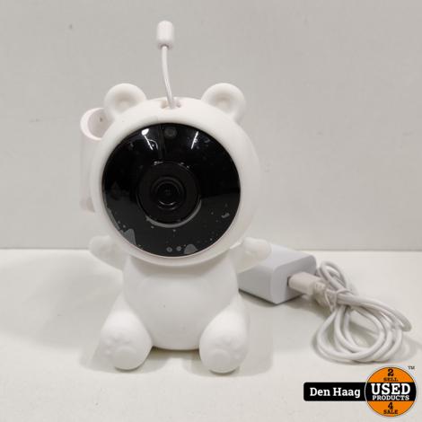 Qnect Wifi Binnencamera met Babymonitor