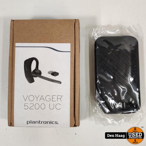 Plantronics Voyager 5200, bluetooth v4.1 headset, zwart