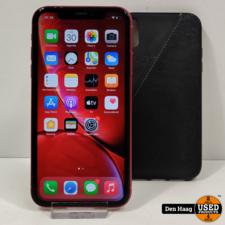 Apple iPhone XR 64GB Red / batterij 89%