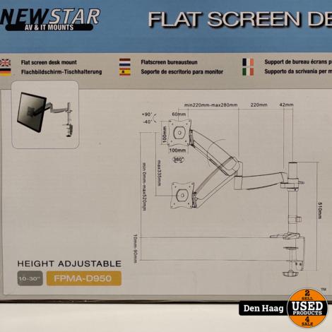 Newstar Monitorarm FPMA-D95