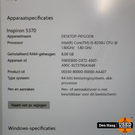 Dell Inspiron 13 5370 CN537008
