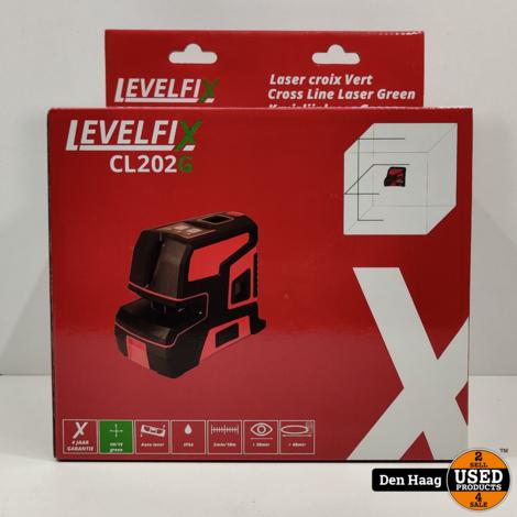 LEVELFIX CL202G Kruislijnlaser Groen