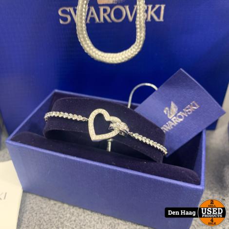 SWAROVSKI ARMBAND LOVELY ZILVERKLEURIG M 5380704