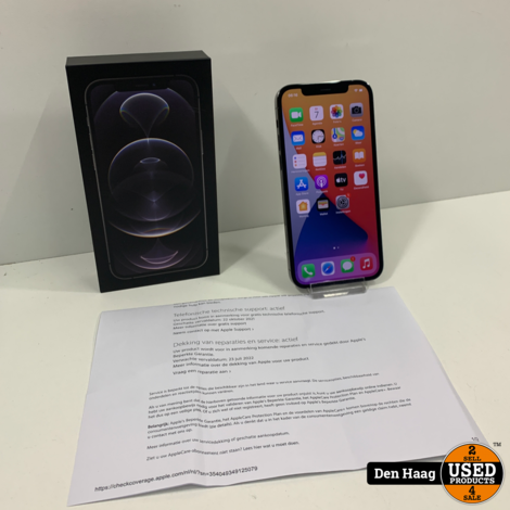 iPhone 12 Pro Graphite 128GB Nieuwstaat!