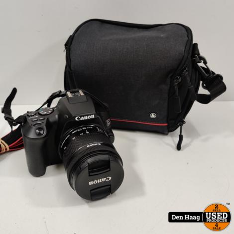 Canon EOS 250D Zwart + 18-55mm f/3.5-5.6 DC III + Tas