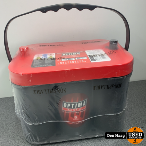 OPTIMA RED TOP BATTERY RTC 4.2 (8001-287) (BCI 34) RTC4.2 AGM