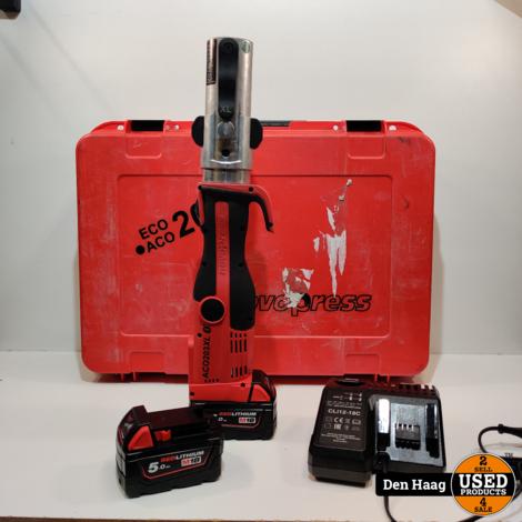 VSH Novopress ACO203XL BT + 2 accu's 5,0Ah+oplader+koffer