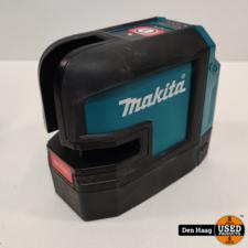Makita SK105DZ accu-kruislijn laser rood (ZONDER ACCU EN LADER)