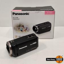 Panasonic HC-V180EG - Camcorder - Zwart