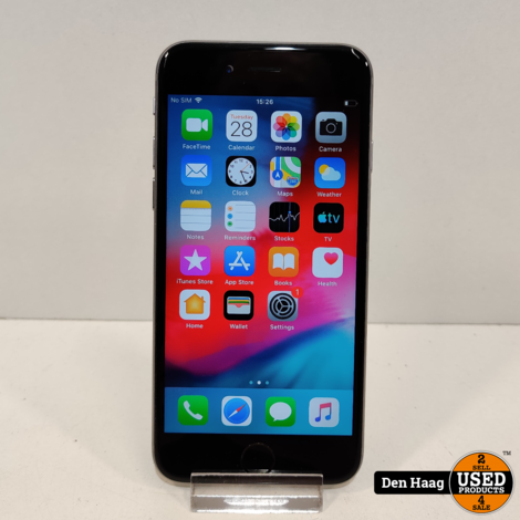 Apple iPhone 6 16GB Zilver   accu 99%