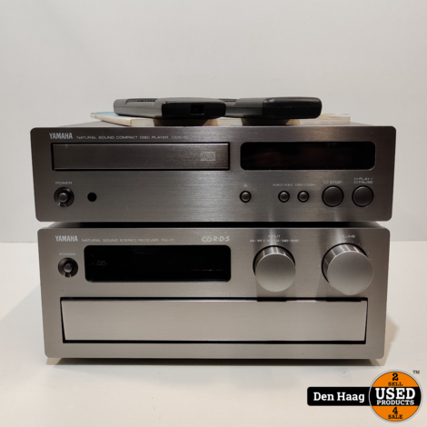 Yamaha RX-10 AM/FM Stereo Receiver + CDX-10 cd speler