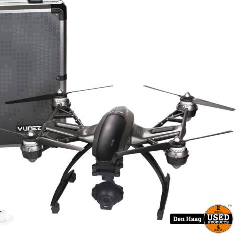 Yuneec Q500 4K Typhoon Black Edition drone incl. Aluminium case