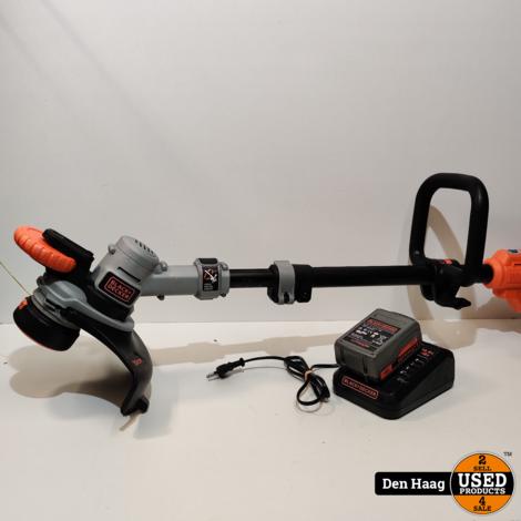 BLACK+DECKER STC1840-QW Grastrimmer - 18V - 30 cm
