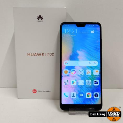 Huawei P20 128GB Zwart