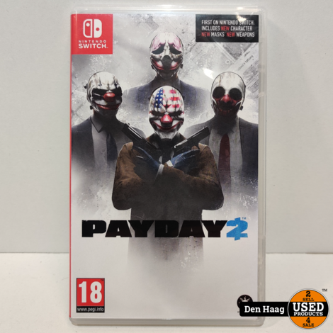 Payday 2 (Complete Edition) Nintendo Switch
