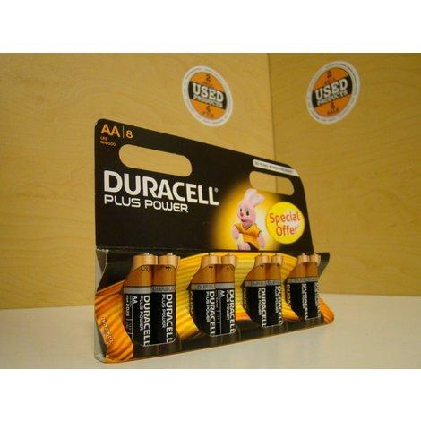 Duracell Plus Power AA 8 Stuks Nieuw