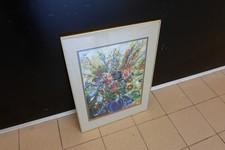 Bloemenvaas Schilderij H. Wester | Incl. lijst