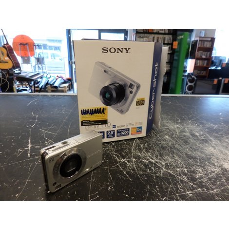 Sony Cyber-shot DSC-W110 Zilver 7.2 MP - In Prima Staat