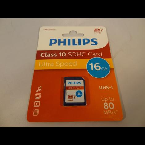 Philips FM16SD45B 16 GB Flashgeheugenkaart | Nieuw