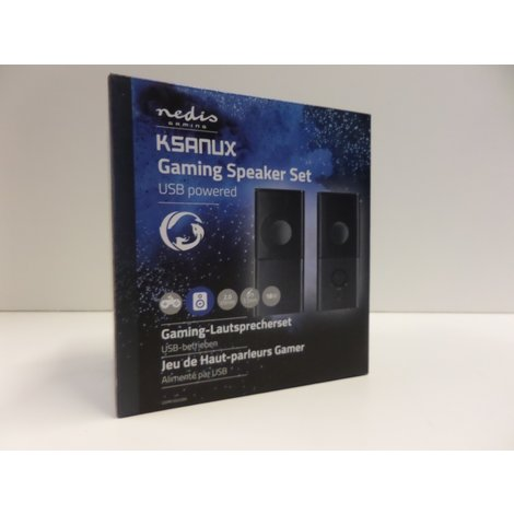 Ksanux Gaming Speaker Set USB | Nieuw in Doos