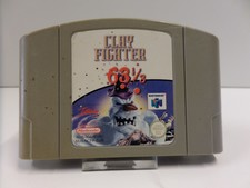 Clay Fighter Nintendo 64 Game | In Prima Staat