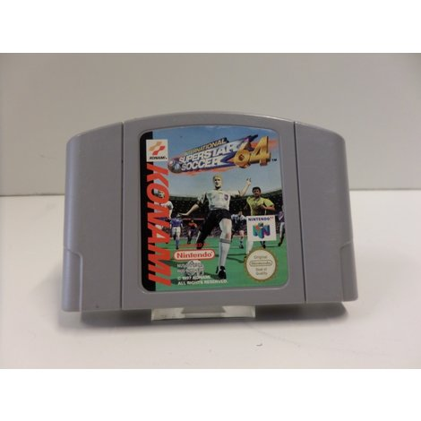 Superstar Soccer 64 Nintendo 64 Game | In Prima Staat