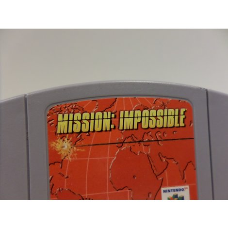 Mission Impossible Nintendo 64 Game | In Prima Staat