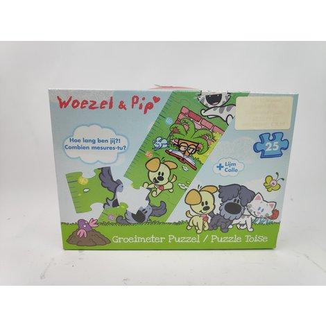 Woezel & Pip Groeimeter Puzzel 25 stukjes - Nieuw in Doos