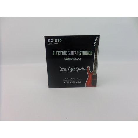 EG-010 Elektrische Gitaar Snaren Extra Light Special - Nieuw