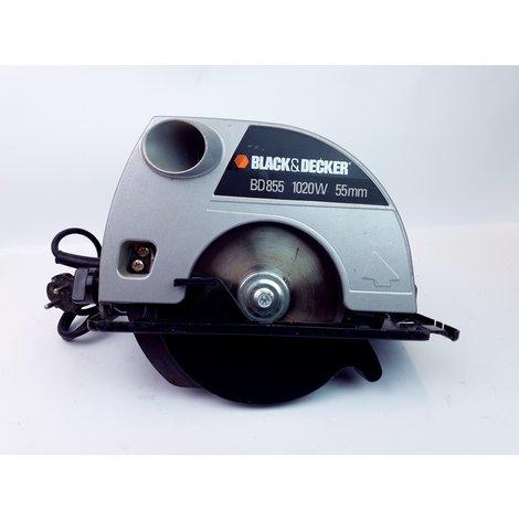 Black & Decker BD855 1020 Watt Cirkelzaag - In Prima Staat