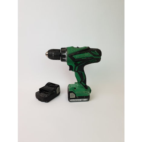Hitachi DS14DJL 14.4 V Accuboormachine - In Goede Staat