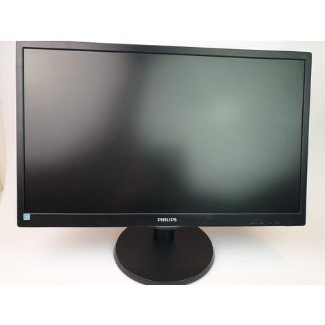 Philips 243V5LHAB/00 Full HD Monitor - In Uitstekende Staat