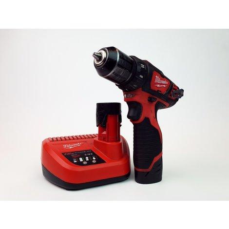 Milwaukee M12 BDD 12 Volt Boormachine - In Goede Staat