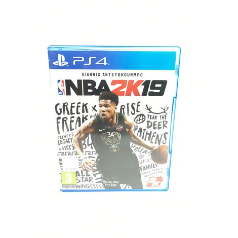 NBA 2K19 PS4 Game - In Prima Staat