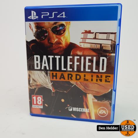 Battlefield Hardline PlayStation 4 Game - In Prima Staat
