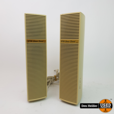 N7R Stereo Sound AUX Speakers - In Goede Staat