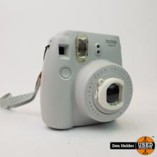FujiFlim FujiFilm Instax Mini 9 Polaroid Camera Crème Wit - In Prima Staat