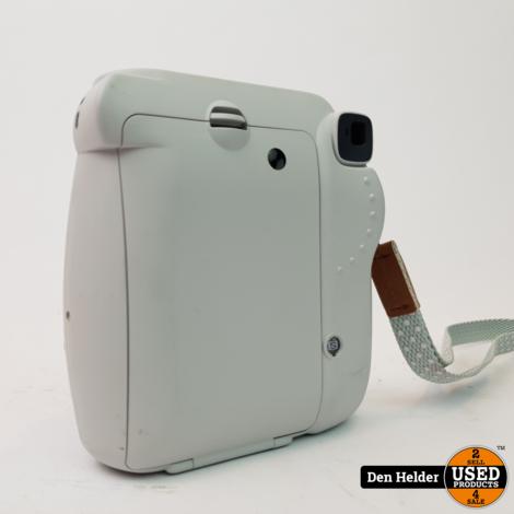 FujiFilm Instax Mini 9 Polaroid Camera Crème Wit - In Prima Staat