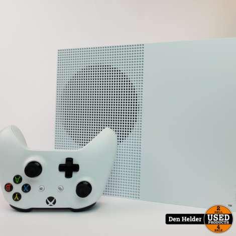 Microsoft Xbox One S 1TB Wit - In Uitstekende Staat