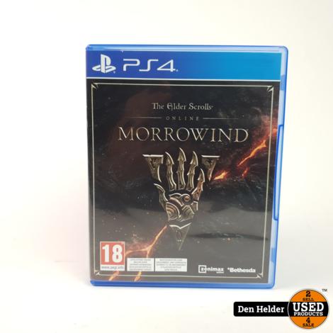 The Elder Scrolls Online Morrowind PS4 Game - In Prima Staat