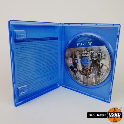 For Honor Sony PlayStation 4 Game - In Prima Staat