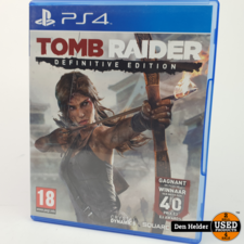 Sony Tomb Raider Definitive Edition Sony PlayStation 4 Game - In Prima Staat