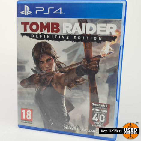 Tomb Raider Definitive Edition Sony PlayStation 4 Game - In Prima Staat